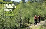 Pistes cyclables, pistes écologiques et Ecovias (chemins écologiques) - Nord du Portugal (PT)
