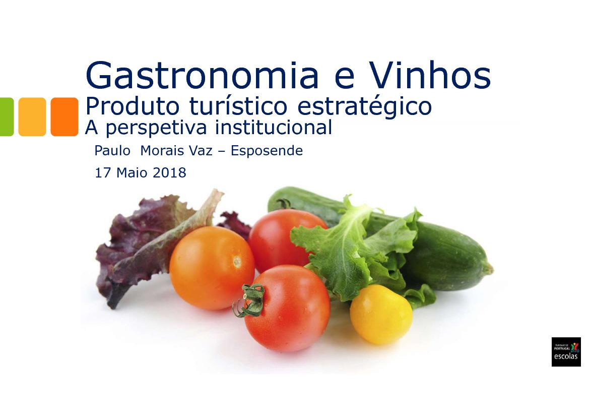 Gastronomie et Vins (PT) - Paulo Vaz
