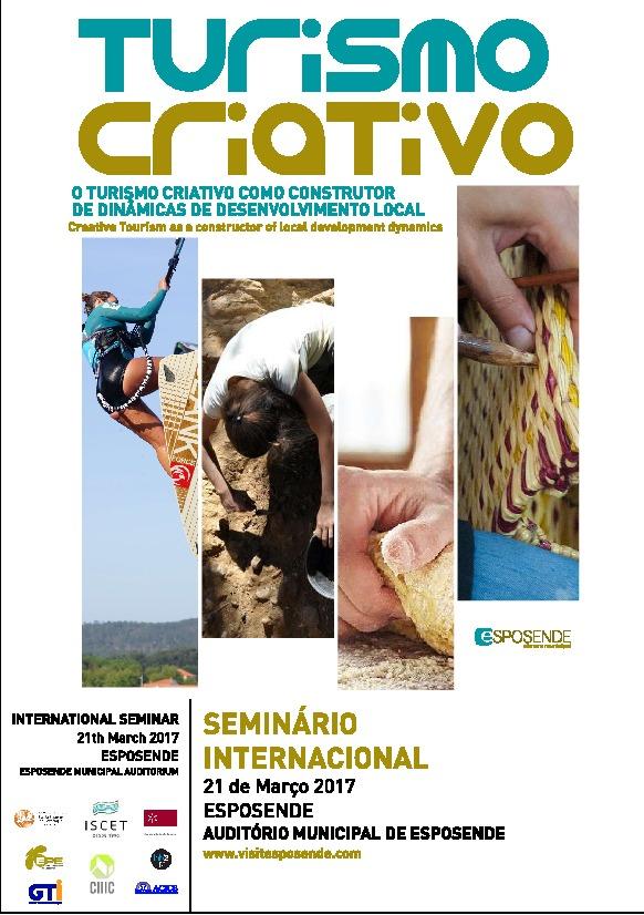 Seminário Internacional Turismo Criativo - Programa