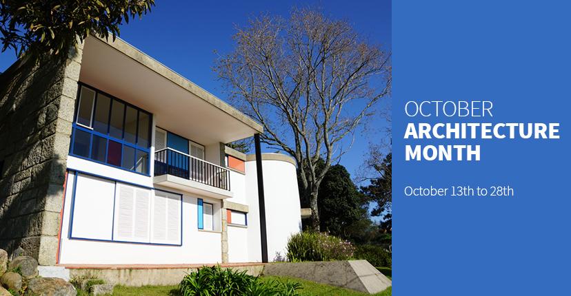 Outubro mês da arquitetura