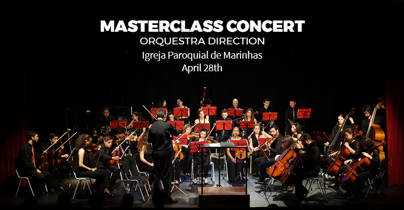 CONCERT OF THE MARSTERCLASS OF ORCHESTRA DIRECTION