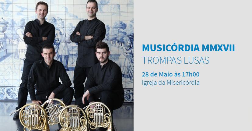 MUSICÓRDIA MMXVII MASTERCLASSES DE TROMPA