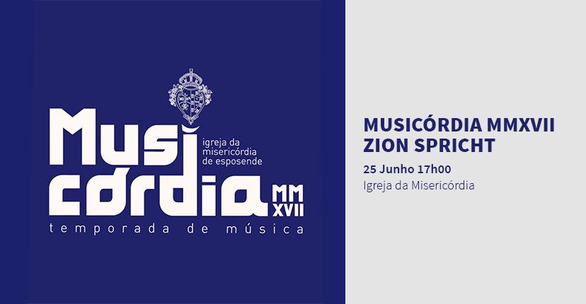 MUSICORDIA - ZION SPRICHT
