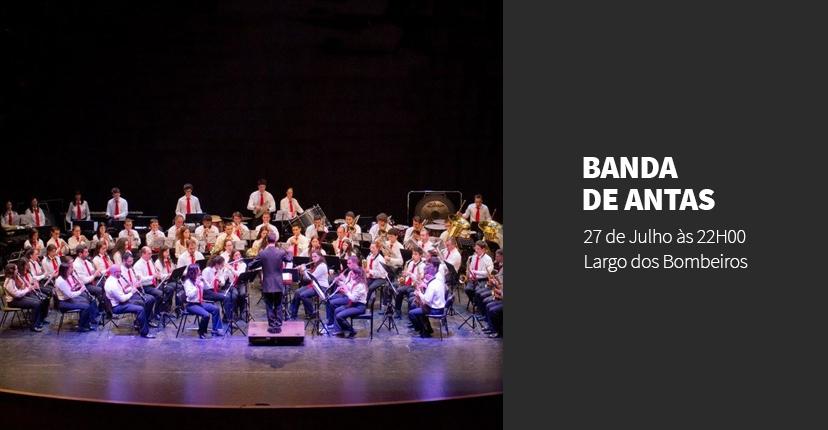 BANDA DE ANTAS APRESENTA AS GRANDES BANDAS SONORAS DE HOLLWYOOD