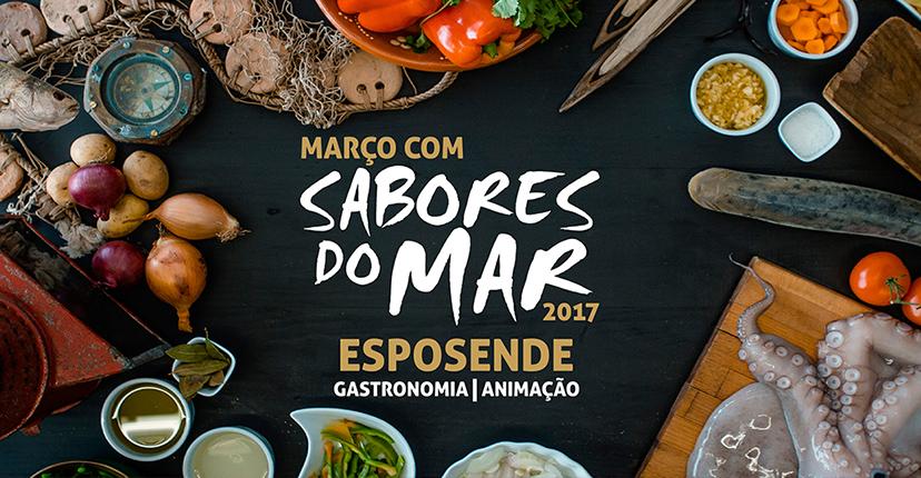 Março com sabores a mar