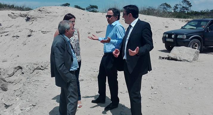 Aprovada obra de defesa da praia da  Bonança