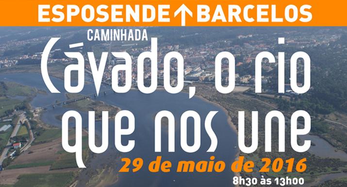 """Caminhada """"Cávado, o rio que nos une"""" vai ligar Esposende a Barcelos"""