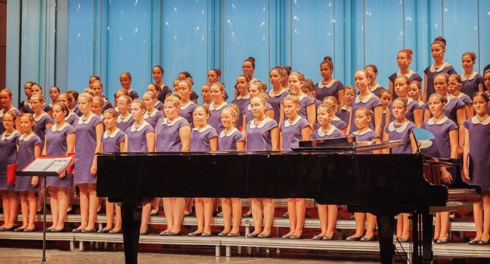 Coro de Pequenos Cantores de Esposende em concerto em Arcos de Valdevez