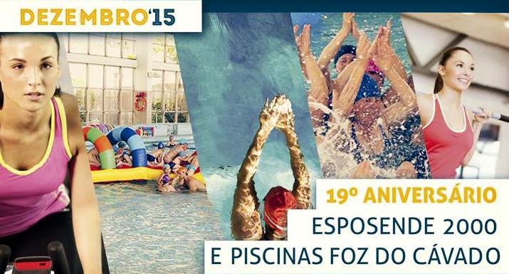 Esposende 2000 comemora 19.º aniversário das Piscinas Foz do Cávado