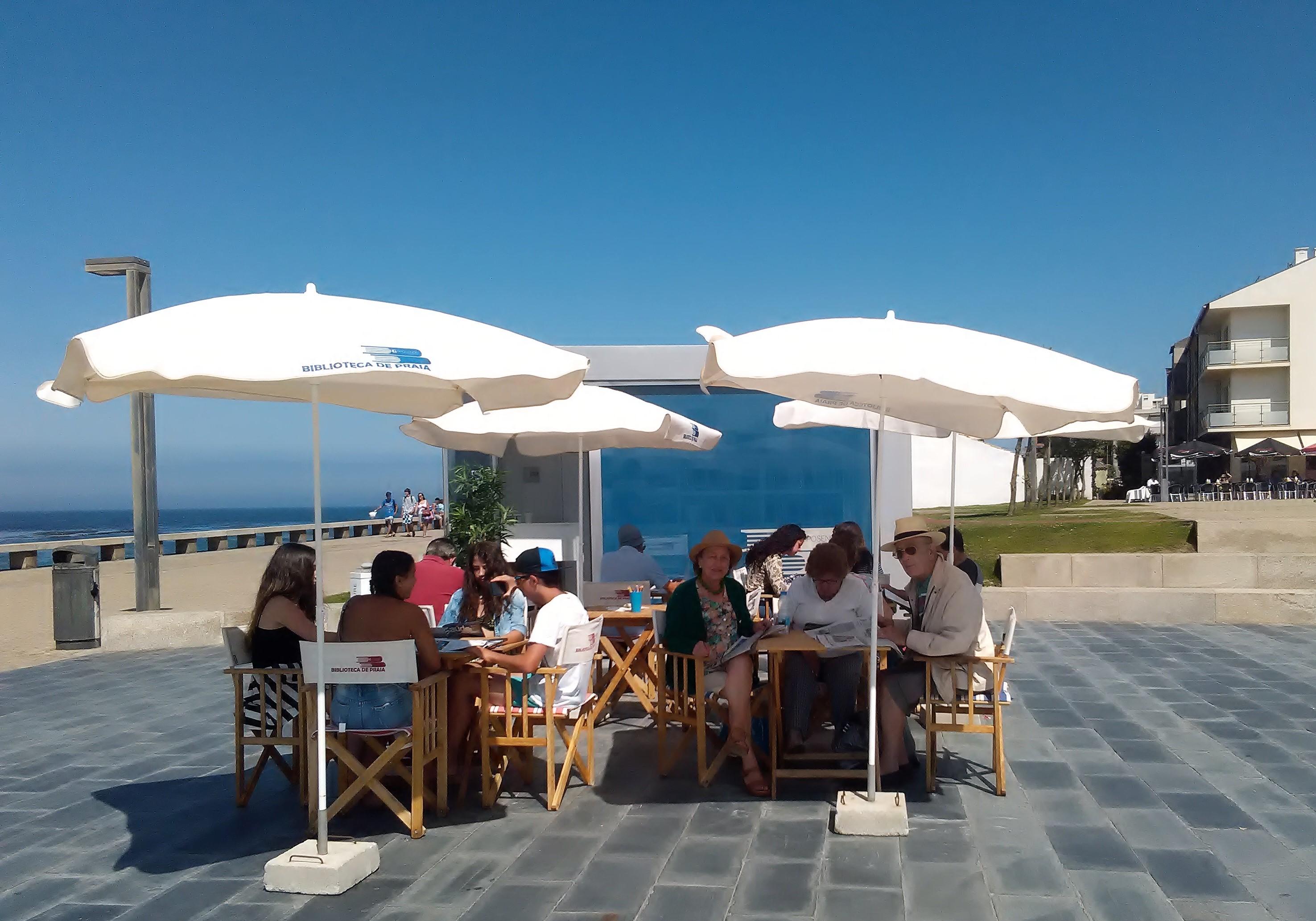 Esposende abre quatro Bibliotecas de Praia