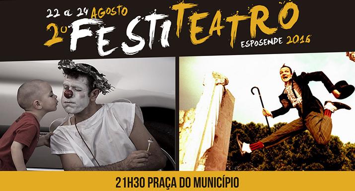 Esposende acolhe 2.º Festival do Teatro de Rua de 22 a 24 de agosto