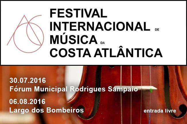 Esposende acolhe Festival Internacional de  Música da Costa Atlântica