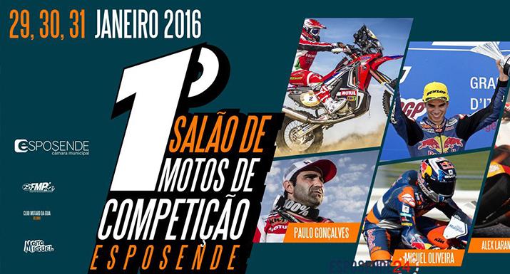 Esposende organiza 1.º Salão de Motos de Competição de 29 a 31 de janeiro