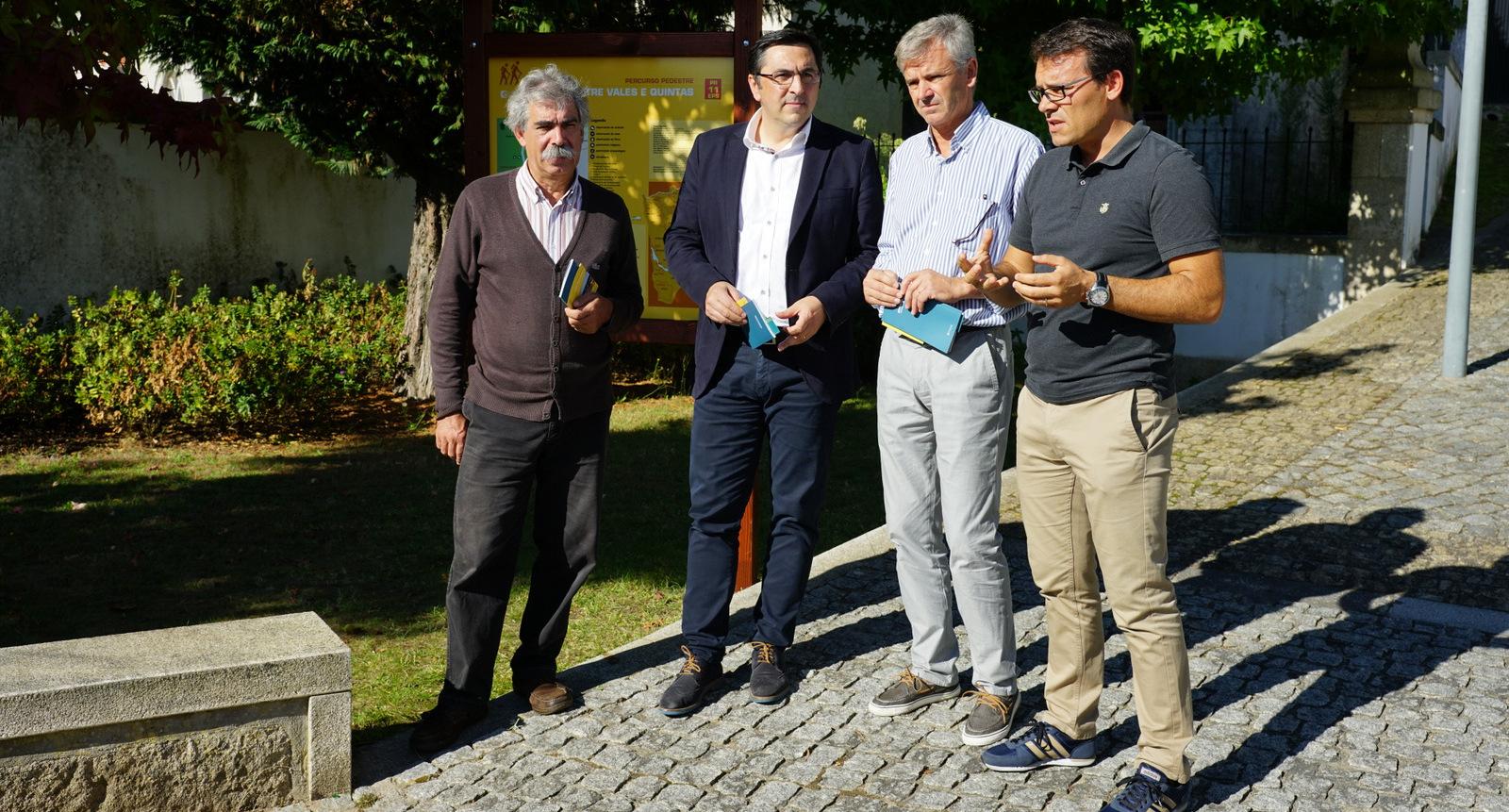 Esposende prolongou Rede de Percursos  Pedestres no Dia Mundial do Turismo