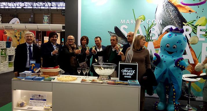 Esposende promove gastronomia no salão de Orense, Espanha