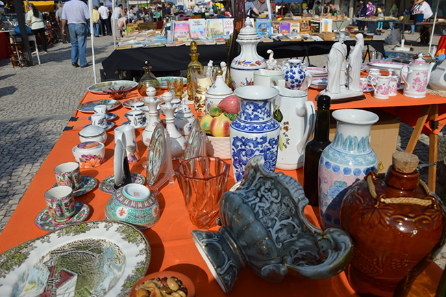 Feira de Velharias de julho destaca  cerâmicas e porcelanas