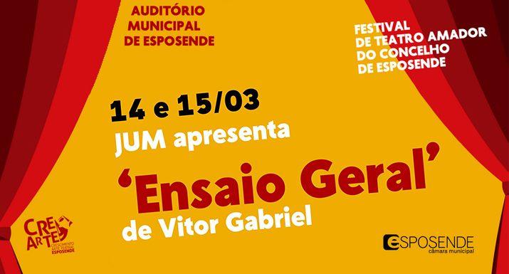 "Grupo de teatro JUM leva ""Ensaio Geral"" ao FestiAma"