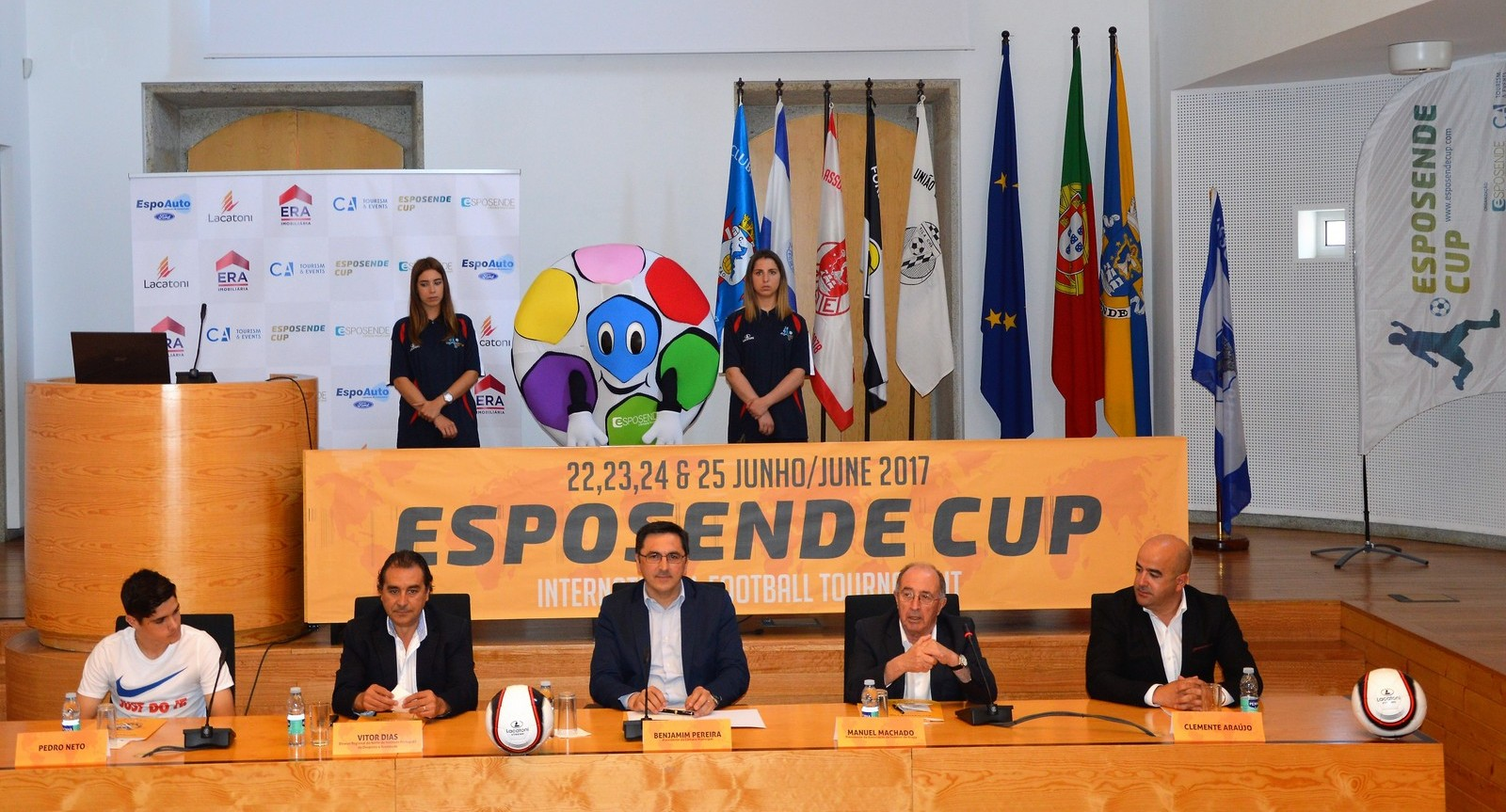 III Esposende Cup será disputado por 100  equipas de 7 países