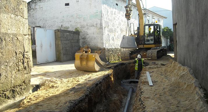 Município de Esposende investe 1, 7 milhões  de euros no alargamento da rede de  saneamento de Marinhas