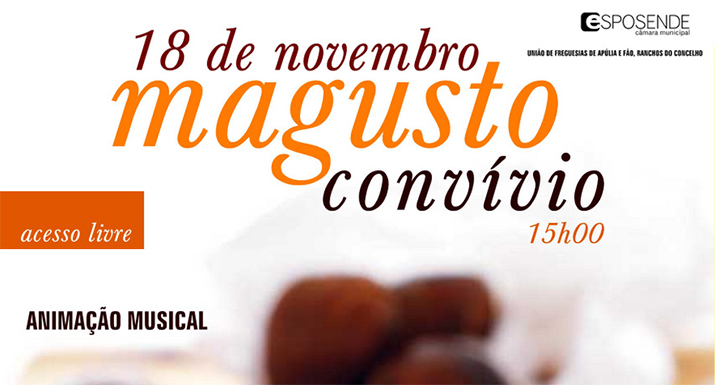 Município de Esposende promove em Fão Magusto-convívio para a comunidade