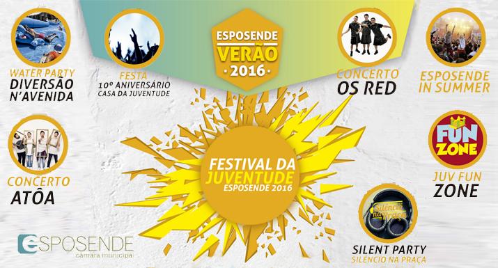 Município de Esposende promove Festival da  Juventude