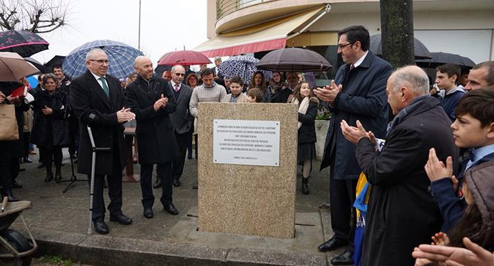Município investe 740 mil euros na requalificação da  avenida de São Martinho, em Gandra