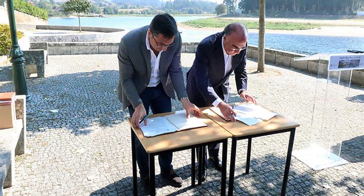 Municípios de Esposende e Barcelos dão passo importante na valorização do rio Cávado