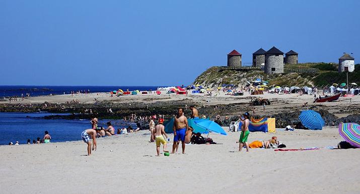 Praia de Apúlia é a preferida das famílias portuguesas