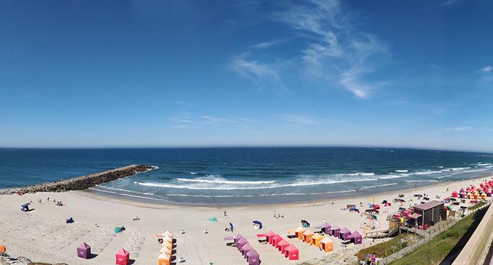 Praias de Ofir e de Suave Mar online para  todo mundo