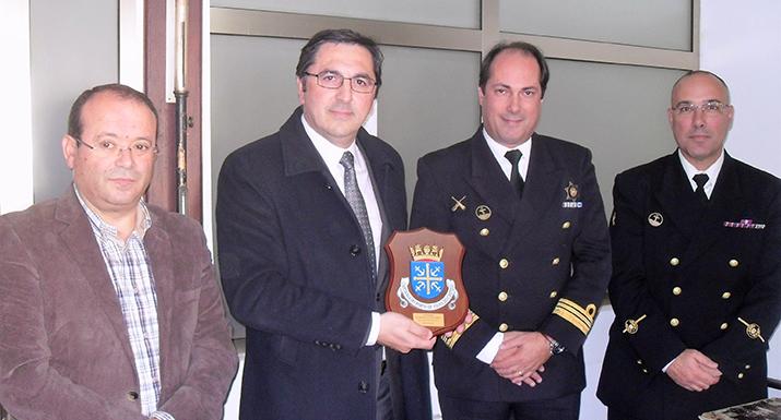 Presidente da Câmara Municipal visitou  Delegação Marítima de Esposende