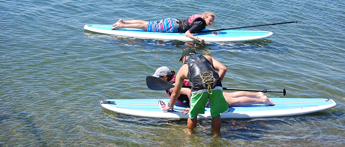 Classes de Stand Up Paddle (SUP)