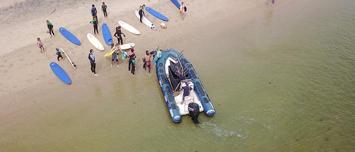 Taxi Boat e Apoio ao Kitesurf